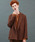 MR.OLIVE(ミスターオリーブ)の「【セットアップ対応】RETORO POLYESTER TWILL / 2B DOUBLE BREASTED JACKET ダブルジャケット(テーラードジャケット)」 ブラウン
