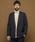 MR.OLIVE(ミスターオリーブ)の「【セットアップ対応】RETORO POLYESTER TWILL / 2B DOUBLE BREASTED JACKET ダブルジャケット(テーラードジャケット)」 チャコールグレー