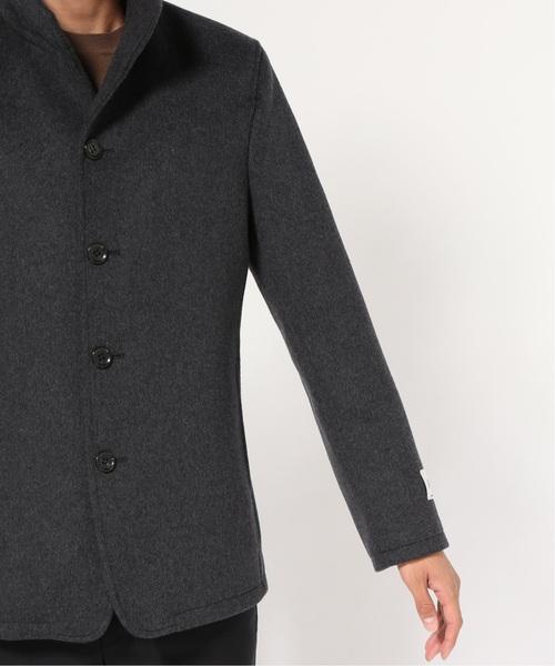 JOURNAL STANDARD(ジャーナルスタンダード)の「【140S Fine Merino Wool】スタンドショートコート#(チェスターコート)」|詳細画像
