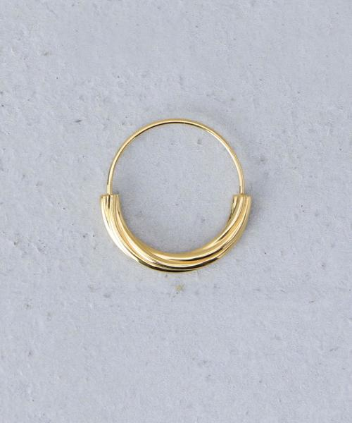 <MARIA BLACK>TOVE SMALL EARRING YELLOW GOLD PLATED/ピアス.