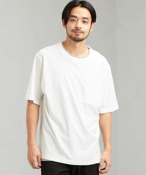【 WEB限定 】 SC ★★ レイヤード クルー SS Tシャツ #