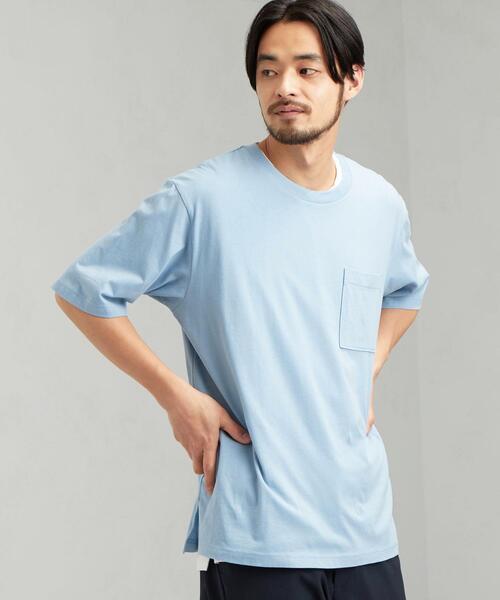 SC ★★ レイヤード クルー SS Tシャツ #