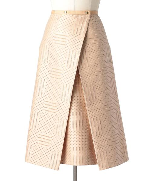 Drawer 透かしジャカードスカート