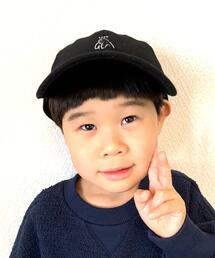 【coen キッズ / ジュニア】起毛ツイルベアイラストキャップ