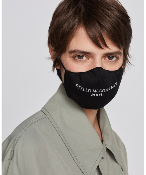 Stella McCartney 2001. Unisex Knitted Mask / ステラ2001 ロゴ ユニセックス ニット マスク