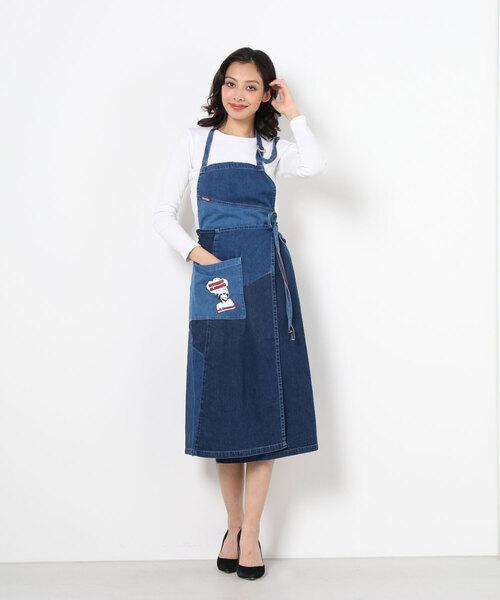 HG FH デニムジャンパースカート