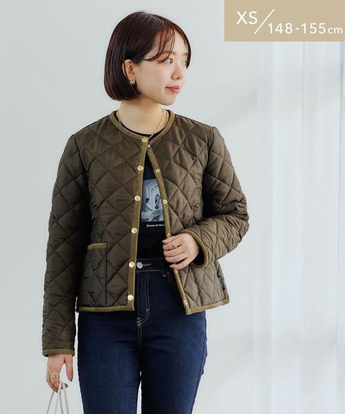 【WEB限定】【別注】[XS/H148-155�p]<Traditional Weatherwear> ARKLEY ショート コート キルティング