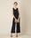 AIMER(エメ)の「【WEB限定】ワイドパンツオールインワン / 結婚式・2次会・パーティードレス(ドレス)」 ブラック