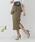 LADYMADE(レディメイド)の「アシメラッフルスカート(スカート)」|カーキ
