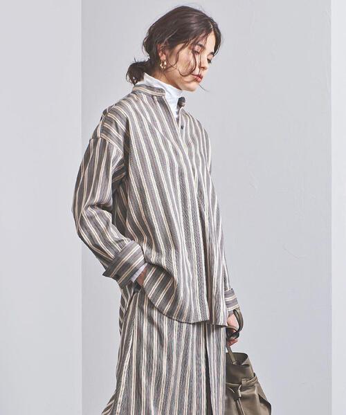 ファッションデザイナー UGMSC ストライプ ストライプ UNITED スタンドカラーシャツ(シャツ ARROWS/ブラウス)|UNITED ARROWS(ユナイテッドアローズ)のファッション通販, TEANY(ティーニー):20f1f48c --- blog.buypower.ng