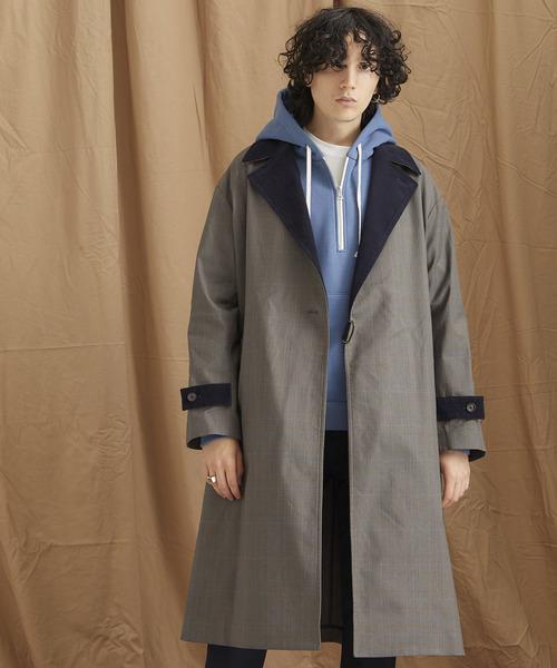 人気カラーの ビッグシルエットチェックベルテッドコート(チェスターコート)|PUBLIC TOKYO(パブリックトウキョウ)のファッション通販, フォトフレームの名入れ工房 和:f3dcb24a --- heimat-trachtenbote.de