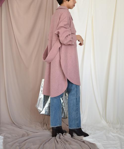 【Eimee Law】圧縮リブシャツジャケット