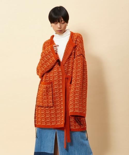 売り切れ必至! TAN ニットジャケット(その他アウター) TAN(タン)のファッション通販, 浜坂町:451733f3 --- blog.buypower.ng