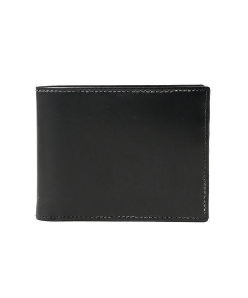 ETTINGER(エッティンガー)の「ETTINGER / ブライドルレザー 2つ折りコインウォレット(財布)」|ブラック