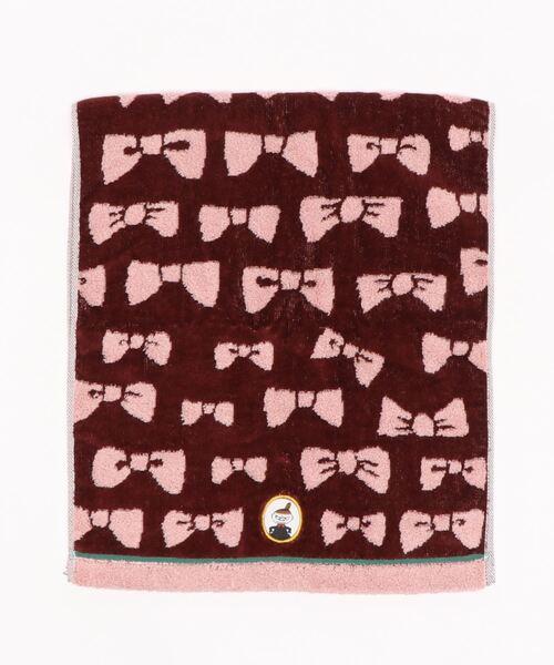 【 MOOMIN / ムーミン 】リトルミイのリボン フェイスタオル 47-2262120 towel TOB