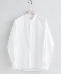 UNITED TOKYO(ユナイテッドトウキョウ)のQUICK DRYタイプライターバンドカラーシャツ(シャツ/ブラウス)