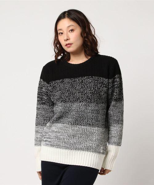 【AZ by junhashimoto(エーゼイ バイ ジュンハシモト) 】Gradation knit