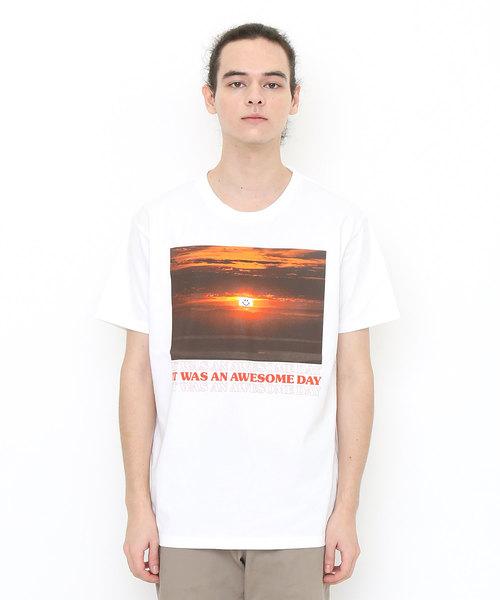 베이직T셔츠/썬세트 스마일
