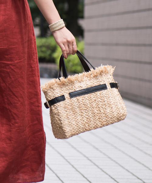 最高品質の 【セール】ベルテッドラフィアトート(かごバッグ)|LOWELL things(ロウェル PICHE,アバハウス シングス)のファッション通販, 油そば専門店 東京麺珍亭本舗:f7e02c1b --- blog.buypower.ng