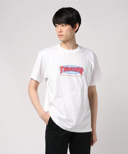 THRASHER/スラッシャー/OVAL MAG Tシャツ