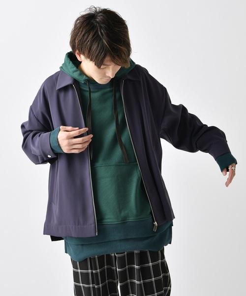 独特の上品 ZIPシャツブルゾン(シャツ/ブラウス) Lui