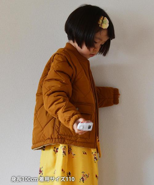 【coen キッズ / ジュニア】2WAYミリタリーキルトブルゾン/ジャケット/コート