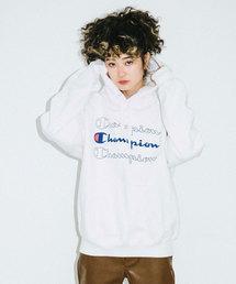 X-girl(エックスガール)のX-girl x CHAMPION SWEAT HOODIE(パーカー)