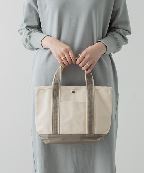 collex(コレックス)の「キャンバスミニトートバッグ(トートバッグ)」|ホワイト