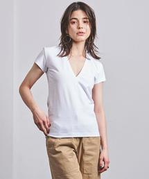 <MADISON BLUE(マディソンブルー)>ディープVネック Tシャツ ■■■
