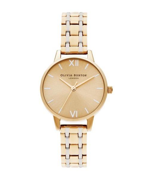 オリビアバートン/OLIVIA BURTON 日本公式 イングランド サンレイ H リンク ブレスレット レディース 腕時計