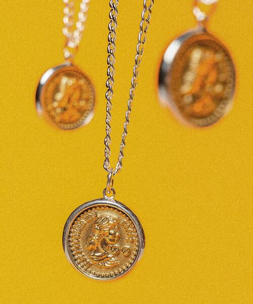 <MAPLE × monkey time> COIN NECKLACE/ネックレス