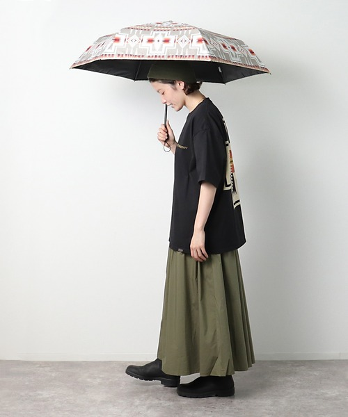【 PENDLETON / ペンドルトン 】 折りたたみ傘 晴雨兼用 日傘 アンブレラ 55cm