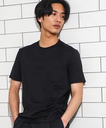 KC ◎GIZA PKT C/N S/S ポケット Tシャツ ◆