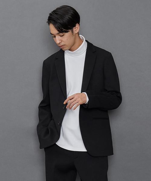 ウールフラノ2Bジャケット ◆