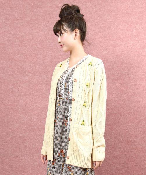 超爆安  フルーレット カーデ(カーディガン)|MILK(ミルク)のファッション通販, ノカミチョウ:0f079aec --- tsuburaya.azurewebsites.net