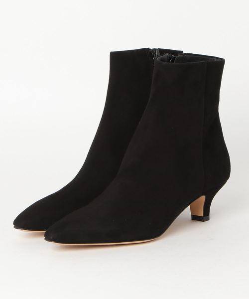 TIARA(ティアラ)の「FABIO Rusconi ショートブーツ(ブーツ)」|ブラック