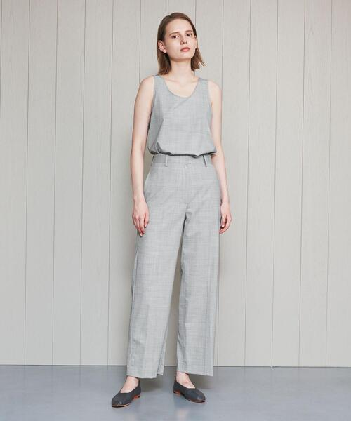 <H>TROPICAL WIDE TAPERED PANTS/パンツ