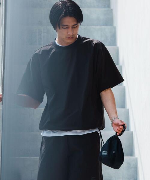 別注 [ ダイワ ] DAIWA × GLR スピンドル クルーネック 半袖 Tシャツ