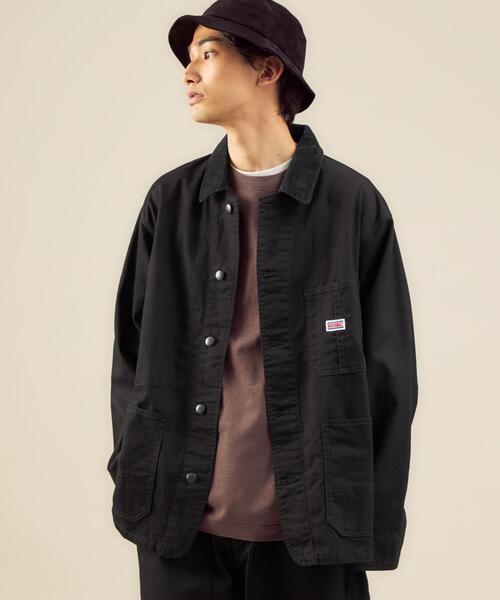 【別注】<BIG MAC×green label relaxing> ツイル カバーオール ジャケット