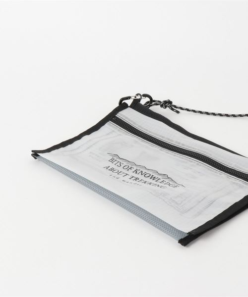 and wander/アンドワンダー Twin Pouch Set