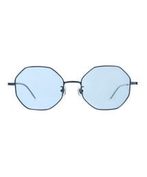 Zoff(ゾフ)のオクタゴン型ライトカラーレンズサングラス(サングラス)