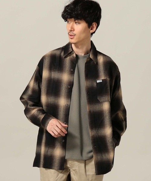 CALTOP / キャルトップ OMBRE CHECK L/S SHIRTS
