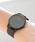 queite(ケイト)の「ミニマルデザイン腕時計(腕時計)」|ブラック