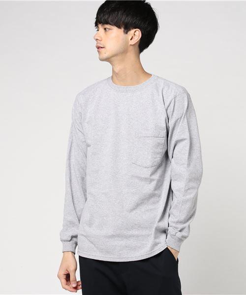 Goodwear(グッドウェア)の「GOODWEAR / グッドウェア ロングスリーブポケットTEE / ロンT(Tシャツ/カットソー)」 詳細画像