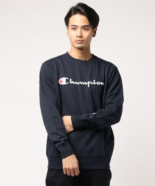 【CHAMPION】裏毛ロゴスウェット