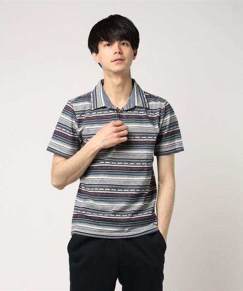 【CREATIONCUBE】デザインポロシャツB