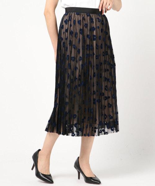 2019激安通販 フロッキーレオパードプリーツスカート(スカート)|Loulou Willoughby(ルルウィルビー)のファッション通販, フレームショップ:c7062c76 --- arguciaweb.com