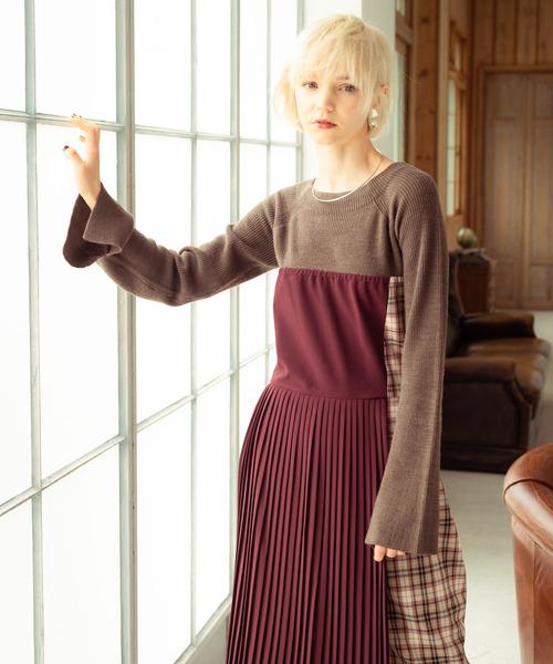 【人気ショップが最安値挑戦!】 Monte knit knit/ OP/ OP モンテニットワンピ(ワンピース)|LAYMEE(レイミー)のファッション通販, 【ギフ_包装】:464f45e4 --- fahrservice-fischer.de