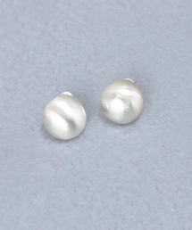 <SYMPATHY OF SOUL STYLE>BALLOON SILVER EARRINGS/ピアス