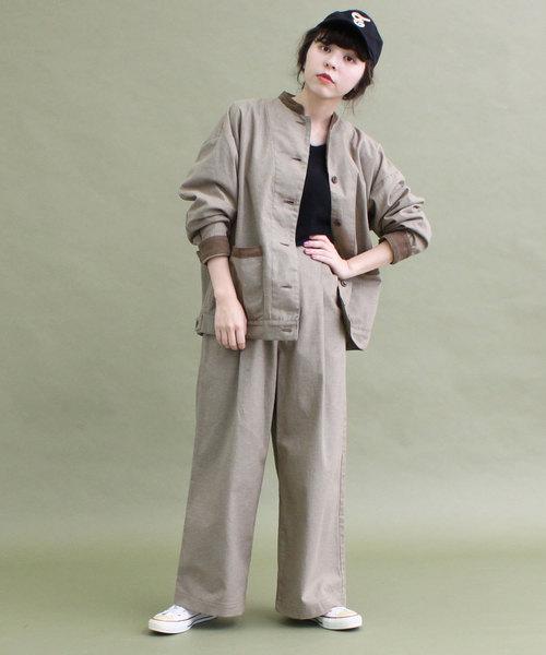 雑誌で紹介された 【WEB限定セットアップ】綿ピーチ千鳥BZ×PTセットアップ(ブルゾン)|CHILD CHILD WOMAN(チャイルドウーマン)のファッション通販, イズミザキムラ:a56e81fc --- steuergraefe.de